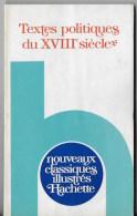 Textes Politiques Du XVIII Siecle - Livres, BD, Revues