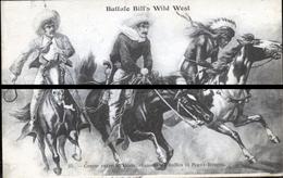 BUFFALO BILL S WEST   COURSE ENTRE MEXICAIN ET PEAUX ROUGES 1905  DDDDD TRAIT ANTI COPIE - Personnages Historiques