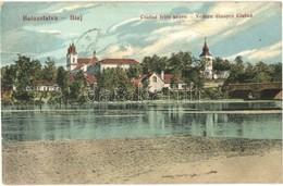 * T3/T4 Balázsfalva, Blaj; Látkép Csufud Felől Nézve, Templom / Vedere Dinspre Ciufud / General View, Church (Rb) - Postcards