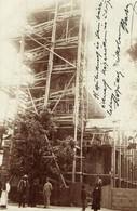 T2 1911 Felsővisó, Viseu De Sus; A Felsővisói Templom építése / Church Under Construction. Photo - Unclassified