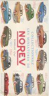 Buvards   Miniatures De Norev - Automotive
