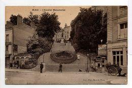 - CPA BLOIS (41) - L'Escalier Monumental - - Blois