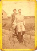 PHOTO CYCLE ANCIEN TANDEM - Cyclisme