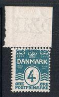 DANEMARK N°51 N** - Unused Stamps