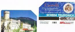 TELECOM ITALIA - C.& C. F3051 -  CASTELLO DEL BUONCONSIGLIO, TRENTO          - USATA - Italia