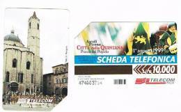 TELECOM ITALIA - C.& C. F3095 - QUINTANA, ASCOLI PICENO    - USATA - Italia