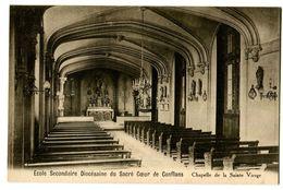 CPA 94 Val De Marne Charenton-le-Pont Ecole Diocésaine Du Sacré Coeur De Conflans Chapelle De La Vierge - Charenton Le Pont