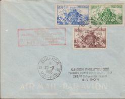 SOUTH VIETNAM  1955  FDC  TORTUE Cachet BUU HOA - Viêt-Nam