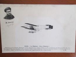 LE BIPLAN GEO CHAVEZ - Avions