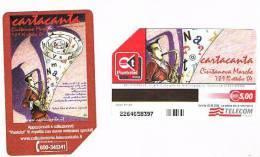 TELECOM ITALIA - C.& C. F3906 - 2004  CARTACANTA, CIVITANOVA MARCHE    -  USATA - Public Special Or Commemorative