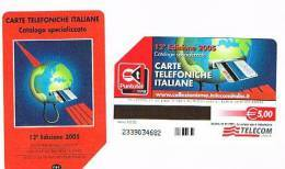 TELECOM ITALIA - C.& C. F3979  -  2005 12^ EDIZIONE CATALOGO C&C   -  USATA - Italia