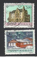 Norwegen, 1990, Mi.-Nr. 1046-1047, Gestempelt - Norwegen