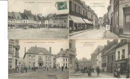 France, PAS De CALAIS (62): Lot Of 19 Vintage Old Postcards Of SAINT-POL - VERY GOOD !!! - Saint Pol Sur Ternoise