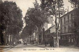 Chaville Grande Rue 1931(LOT 33) - Chaville