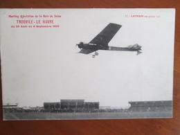 Meeting D Aviation De La Baie De Seine , Trouville Le Havre 1910 - Meetings