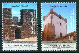 Morocco 2007 Castles Joint Portugal Set 2v MNH - Morocco (1956-...)