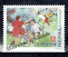 Nepal 1998 Yvert 629, Football World Cup France - MNH - Nepal