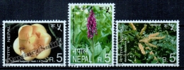 Nepal 2000 Yvert 690-92, Flora. Flowers - MNH - Népal