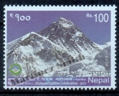 Nepal 2013 Yvert 1066, 60th Anniv. Of The 1st Ascent Of The Mountain Everest  - MNH - Nepal