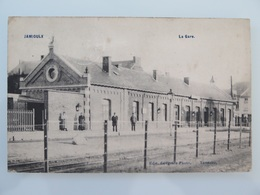 Jamioulx La Gare(Station)1908 - Ham-sur-Heure-Nalinnes