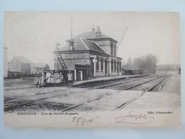 Bastogne La Gare Du Nord Et Les Remparts (Station)1906 - Bastogne