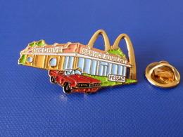 Pin's MacDo - McDonald's - Restaurant Pessac - Mc Drive Service Au Volant - Voiture Américaine (VB50) - McDonald's