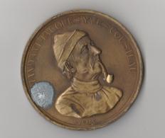 Médaille En Bronze - Commandant Cousteau / Le Monde Des Océans / La Calypso - France