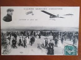 Grande Semaine D Aviation , Latham En Plein Vol - Meetings