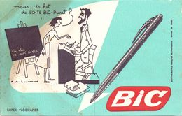Buvard Vloeipapier - Stylo BIC - Buvards, Protège-cahiers Illustrés