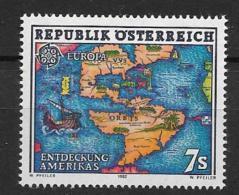 1992 MNH Cept Austria - 1992