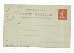 Carte Postale , ENTIER POSTAL NEUF ,  10c - Ganzsachen
