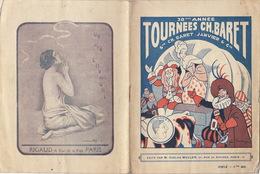 Programme De Théâtre TOURNEES CH. BARET Le Dictateur Jules Romain - Programmes