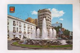 CPM ALICANTE,FUENTE DE LA ESPLANADA Y CASTILLO - Alicante