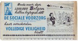 Buvard Vloeipapier - Verzekering De Sociale Voorzorg - Cartoon Kari - Banque & Assurance