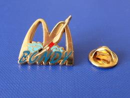 Pin's Mac Do - Mc Donald's - Bondy - France - Paris - Plongeon Natation Nageuse Piscine (VB20) - McDonald's