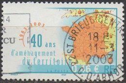 FRANCE  2003     N°3543___OBL VOIR SCAN - Usados