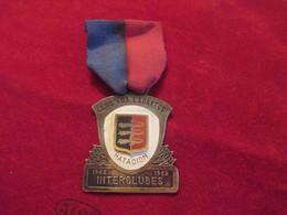 "Médaille Pendante/Natation/Club ""Los Lagartos"" Natacion Interclubes / Bogota/COLOMBIE/1962                      SPO254 - Swimming"