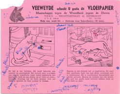 Buvard Vloeipapier - Veeweyde - Anderlecht - Buvards, Protège-cahiers Illustrés