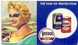 Buvard Vloeipapier - Motor Oil Olie Veedol - Buvards, Protège-cahiers Illustrés