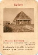 A BAFOUSAM CAMEROUN EGLISES  CARTE FORMAT 11 X 7.50 CM DOS VIERGE - Cartes Postales