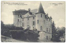 Cpa Le Château De Soulages, Près Auroux ... La Lozère Illustrée - France