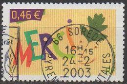 FRANCE  2003     N°3540___OBL VOIR SCAN - Usados