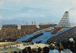 GRENOBLE   Stade Olympique  Cérémonie D'ouverture Des Xèmes JO D'hiver 1968 - Grenoble