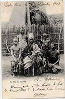 CPA Dahomey Type Ethnic Afrique Noire Circulé Le Roi De SAKETE - Dahomey