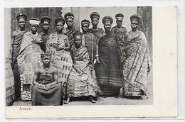 CPA Ghana Type Ethnic Afrique Noire Circulé Accra - Ghana - Gold Coast