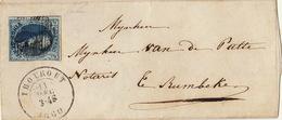 20 Centimes Thorout Rumbeke Par Roulers Fragment - Belgique