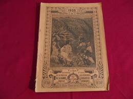 ALMANACH DU PELERIN 1905 - Calendars