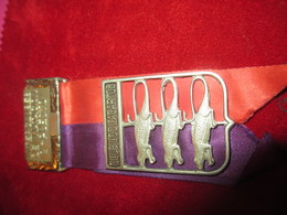 "Médaille Pendante/Natation/ Interclubes De Natacion / 2e Puesto/Club ""Los Lagardos"" /Bogota/COLOMBIE/Vers 1960    SPO256 - Natation"