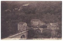 Cpa Environs De Villefort - Pied De Borne - Villefort