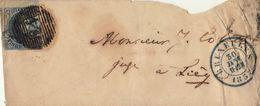 épaulette 20 Centimes Bruxelles Liège - 1849-1865 Médaillons (Autres)